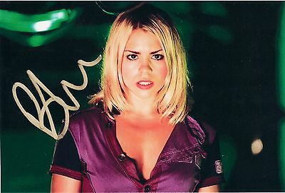 BILLIE PIPER DOCTOR WHO ROSE TYLER SIGNED AUTOGRAPH 6 x 4 PRE PRINTED PHOTO
