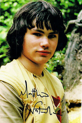 MATTHEW WATERHOUSE DOCTOR WHO ADRIC SIGNED AUTOGRAPH 6 x 4 PRE PRINTED PHOTO