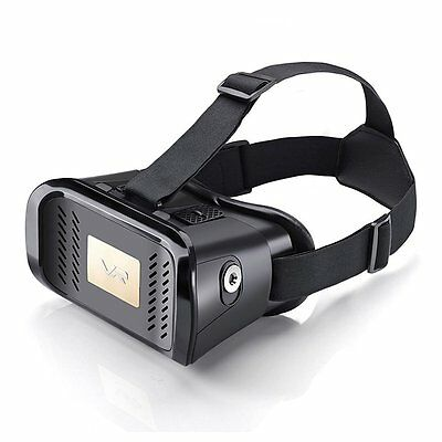VR Headset Mobile Virtual Reality Goggles/Glasses by VR Box 4-6""