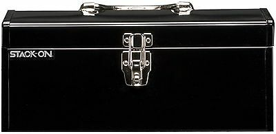 Stack-On SHB-16 16-Inch Multi-Purpose Steel Tool Box (Black)