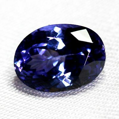 3,69 cts, TANZANITE NATURELLE AAA COLOR  (pierres précieuses/ fines)