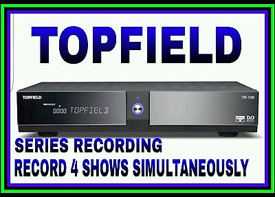 TOPFIELD PVR*500 gb*RECORD UP TO 4 SHOWS*SERIES RECORDING