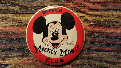 Mickey Mouse Club Member Pin