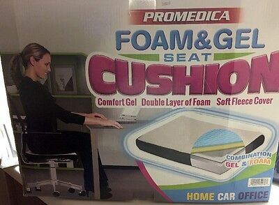 Foam And Gel Seat Cushion For Home Car Or Office