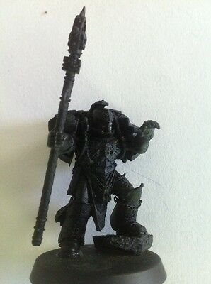 Warhammer 40k Space Marines Army HQ Converted Librarian Games Workshop Model !!!