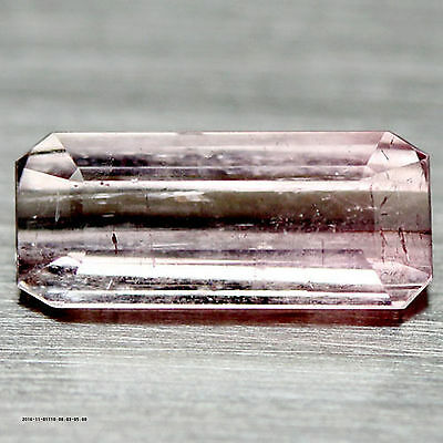 1.94 Ct Natural! Pink Nigeria Tourmaline Octagon