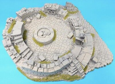 WARHAMMER Ruined Tower Chaos Temple Games Workshop Terrain Scenery Ruin