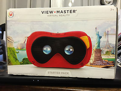 View Master Virtual Reality VR Starter Pack Adults & Kids Mattel  DDL68