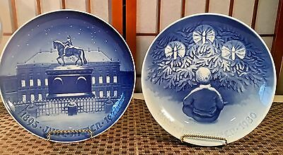 "Royal Copenhagen (1970)""The Royal Palace"" & (1980)""Happiness Over Yule Tree"""
