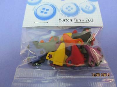 Dress it Up Buttons - Planes (782)