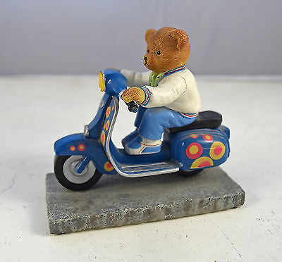 The Hamilton Collection Scooter Bears 'Boy About Town' Figurine