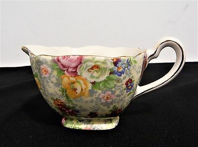 Vintage Lord Nelson Ware Chintz Cream Milk Jug England Rose Time