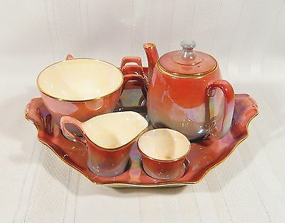Royal Winton Lustre Individual Breakfast TEA & TOAST SET for ONE Countess