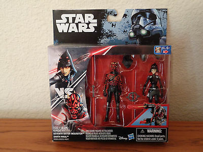 *NEW* STAR WARS ROGUE ONE Rebels SEVENTH SISTER VS DARTH MAUL *IN HAND*