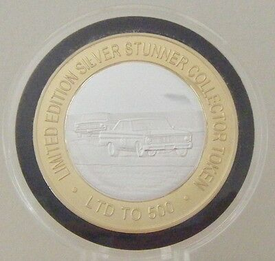Racing Falcons Australian Silver Stunner Coin - Limited Edition 500 Released