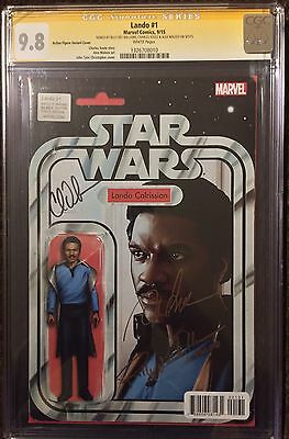 Lando 1 CGC 9.8 SS signed by Billy Dee Williams, Soule & Maleev