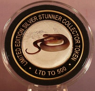 Australian Brown Snake Silver Stunner Coin - Limited Edition 500 Released
