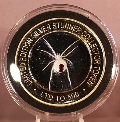 Red Back Spider Silver Stunner Coin  Limited Edition 500 Released