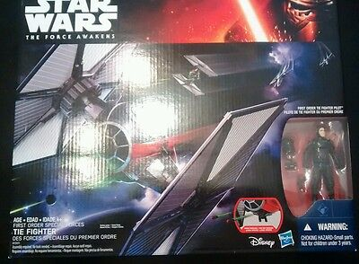 Star Wars The Force Awakens First Order Tie Fighter-New!!!