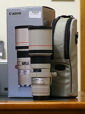 CANON 400mm f5.6l lens. Suit new buyer. Bought Sept. 2016