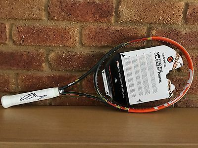 Andy Murray Signed Head Tennis Racquet with COA