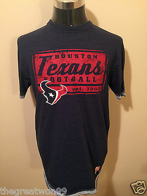NFL Houston Texans LGE Posted Victory Printed Tee by Majestic