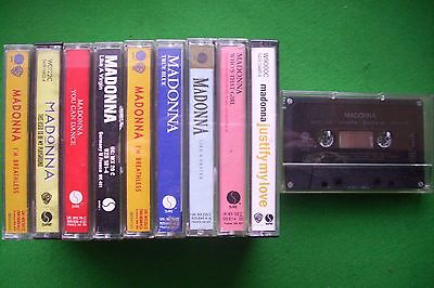 Madonna Tapes and CD's - Job Lot of 14