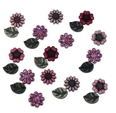Dress it Up Buttons - Tiny Country Flowers