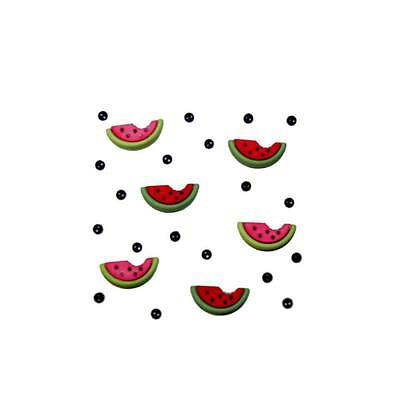 Dress it Up Buttons - Watermelons