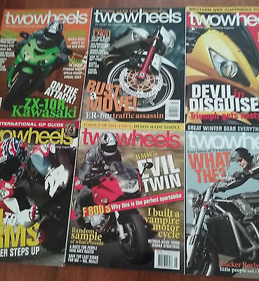 Two Wheels Magazine 2006 issues 1-12