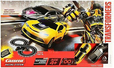 BNIB TRANSFORMERS Slot Cars Racing System Figure 8 Track WITH TRANSFORMER AND