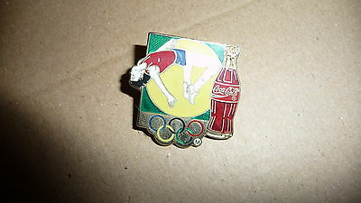 pin's jeux olympiques coca cola