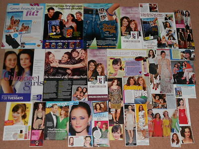 35+ ALEXIS BLEDEL Magazine Clippings