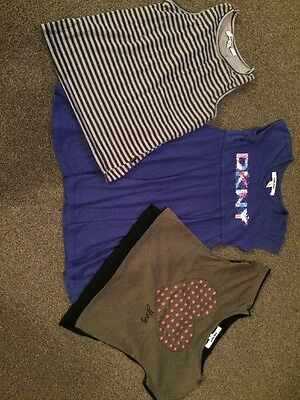 Girls DKNY Bundle Dress And 2 Tops Age 5