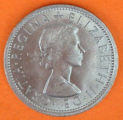 Elizabeth II  1966 Two Shillings (2446)