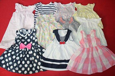 Baby Girls Mostly Next Dress Bundle  6 9 12 Months @//@ 10 Items
