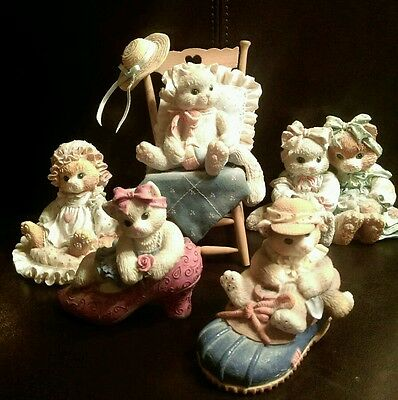 1990's Lot of 5 Calico Kittens ~Rare