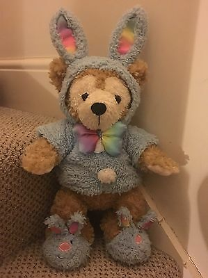 Official Walt Disney Mickey Mouse's Duffy Bear Dressed As Easter Bunny