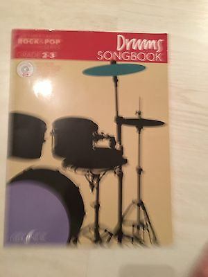Rock And Pop Drum Songbook A D Backing Cd. Grade 2-3