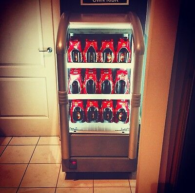 Open Front Display Fridge With Led Lights