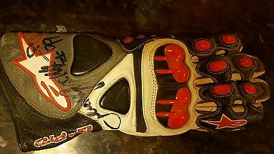 Jeremy mc williams signed glove