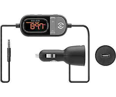 Car Fm Transmitter Belkin Mp3 Player Kit Sd Iphone Radio Samsung Handsfree 6s