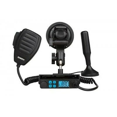 Mini Compact Size UHF CB Mobile with Windscreen Mounting Kit and and Masterscan™