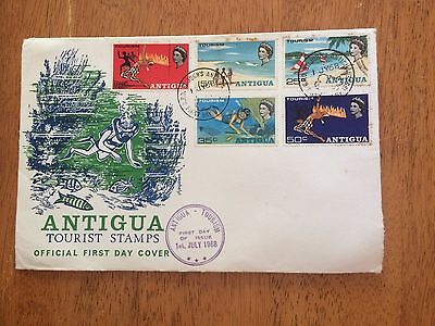 Antigua First Day Cover - Free Postage