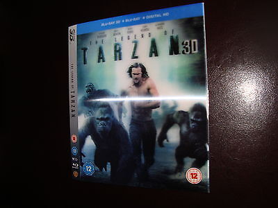 The Legend Of Tarzan Lenticular 3D Movie Slipcase Only Not A Dvd Or Blu Ray Disc