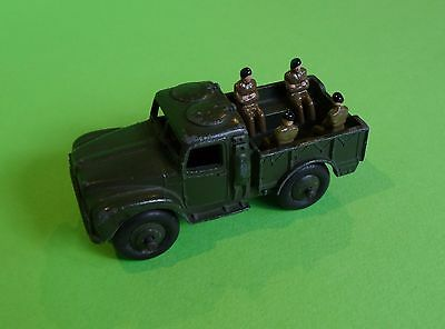 Dinky Toys - 641 Army 1-Ton Cargo Truck + 4 Crew - No Canopy, Unboxed Good.