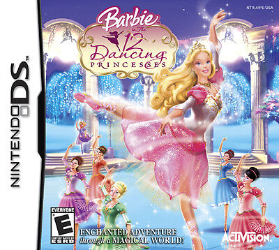 *BOX & MANUAL ONLY* BARBIE IN AND THE 12 DANCING PRINCESSES - NINTENDO DS / DSi