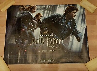 Harry Potter: Deathly Hallows Part 1 Uk Cinema Quad Poster
