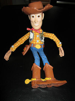 Disney Mattel Toy Story 3 Talking Woody Doll Pull String I'm Going To College