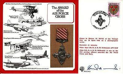 RAF(DM)1, Award of the Air Force Cross, pilot signed